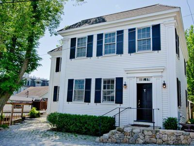 Vineyard Haven house rental - Hill House on Spring Street: In-Town Luxury With Water Views