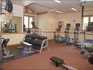 Steamboat Springs condo photo - Spacious, Fully Equipped Fitness Center