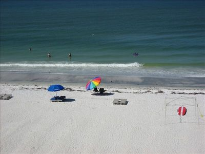 Indian Shores condo rental - View From Balcony