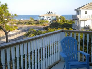 St George Island house photo - Gulf view from top balcony