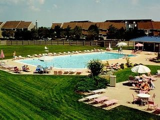 Vacation Homes in Ocean City condo photo - 1 of 2 *Large* outdoor pools with a lot of recreational space