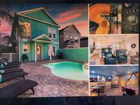 Luxury Fun home with Kids Room w Slide, Pool, Hot Tub, Theater, Game Room & More