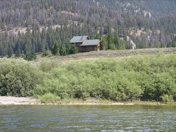 View of House from Hebgen Lake
