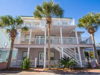 30A Beach House | 250 ft to the Beach! 5BR/5BA | Sleeps 14 | Prime Location!
