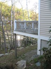 River right out back - Lincoln house vacation rental photo