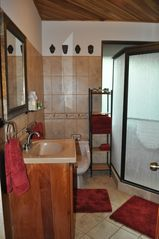 Playa Hermosa house photo - Guest Bathroom with oversize shower