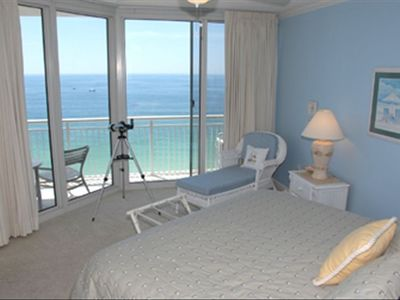 Master Bedroom Gulf View - sliding doors to Balcony