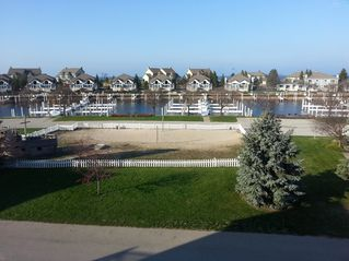 Manistee condo photo - GREAT view of marina and playground