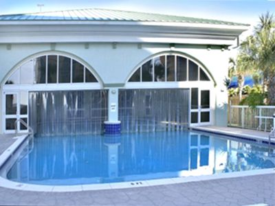 See the Pool from the Outside!