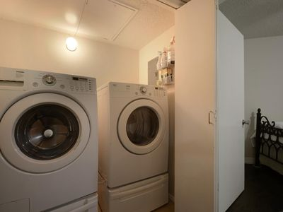 High Efficiency Washer and Dryer