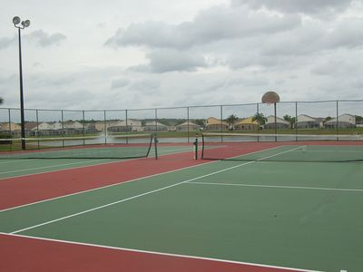 Community Lake Front Tennis/Basketball Courts