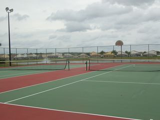 Hampton Lakes villa photo - Community Lake Front Tennis/Basketball Courts