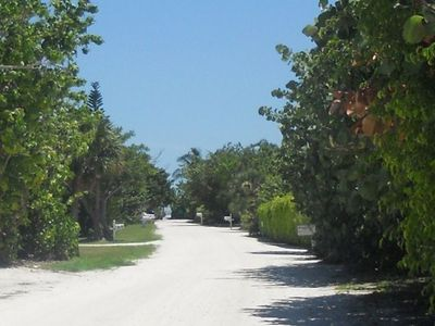 Stroll 4 Houses to One of the Best Beaches on Sanibel