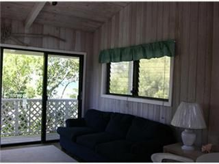 Marsh Harbour house rental - Loft room with private deck.