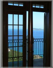 Peter Bay villa photo - Guest house bedrooms have French doors with views north onto private balconies.