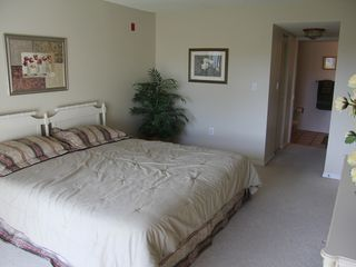 Cocoa Beach condo photo - master bedroom (king size bed)