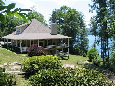 Spacious Low-Country Living on Lake Glenville