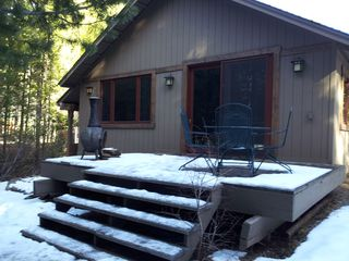 Truckee cottage photo - Backyard Deck