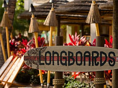 Have dinner outside at LongBoards