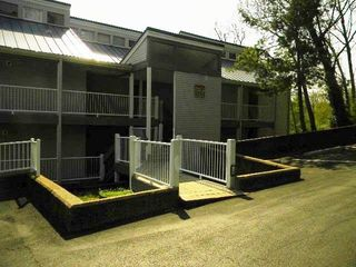 Park at front door four steps down to walkway to unit/ - Osage Beach villa vacation rental photo