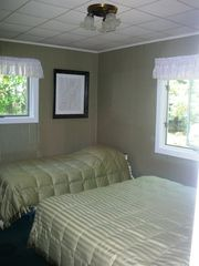 Manistee house photo - Second bedroom with one queen and one twin bed