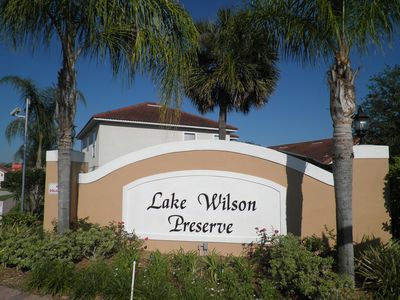 Entrance gate to Lake Wilson Preserve