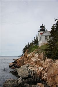 Bass Harbor Headlight is a pleasant 21/2 mile walk from the cottage
