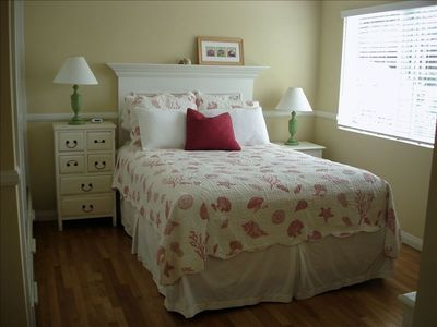 2nd Bedroom with comfy Queen bed