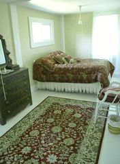 Cranberry Isles estate photo - Antique Section Gold Bedroom