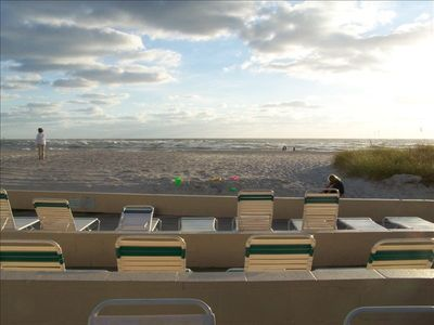 Sunsets await from your Gulf front condo!