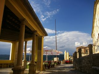 Motovun apartment photo - Motovun loggia and main street only 20 meters from Villa Borgo