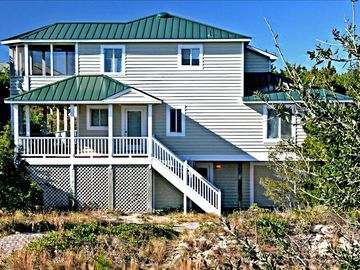 Bald Head Island house rental - View golfers as they play the award winning greens
