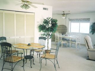 Satellite Beach condo photo - Cozy dinette area with ocean view