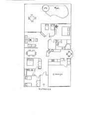Rolling Hills villa photo - Floorplan