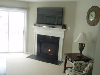 Laconia townhome photo - Gas Fireplace