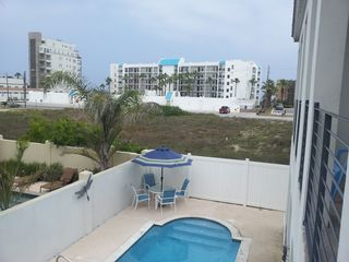 South Padre Island condo photo - View from 2nd Floor Rear Balcony