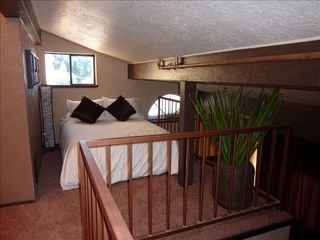 Stateline condo photo - Cozy loft with full bed - sleeps 2