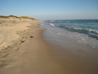 Philbin beach is a short drive and Lobsterville beach is a short walk from house