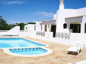 Vale de Milho villa rental - View from pool terrace