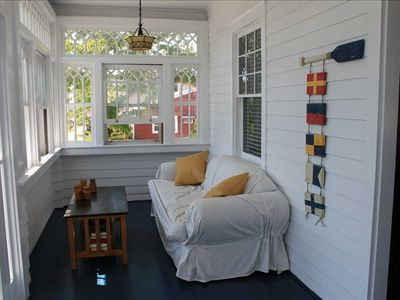 Antique sun porch