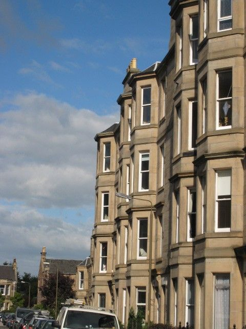 Edinburgh apartment rental - Outside view of apartment