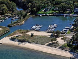 Southold house photo - aerial view