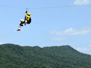 Sunapee house photo - Canopy zip line tours at Mount Sunapee Adventure Park