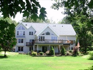 Amery house photo - Peaceful and serene view from the lake