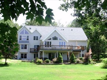 Amery house rental - Peaceful and serene view from the lake