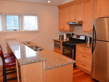 Luxury kitchen with all the amenities; gas appliances for the chef in you