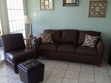 Brand new sofa and chaise lounge.