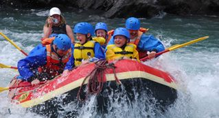 Canmore house photo - rafting