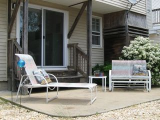Surf City house photo - Enjoy the sun and relax on your own patio.