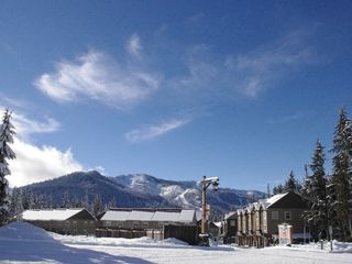 Collins Lake Resort® in the Winter - Government Camp chalet vacation rental photo